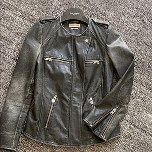 Isabel Marent Etoile leather jacket
